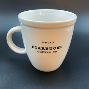 Starbucks Coffee Co. Barista White Mug